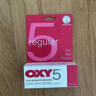 Oxy 5 obat jerawat acne pimple medication