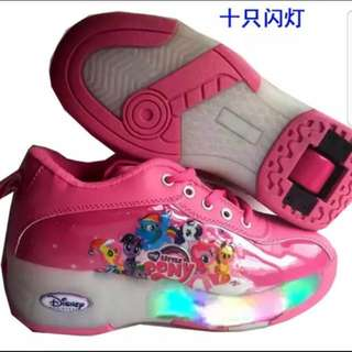 My Little Pony Roller Lightup Shoes