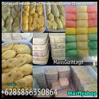 durian asli medan+pancake durian mantap