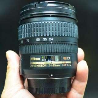 Nikon 日本做24-85mm 1:3.5-4.5 G鏡