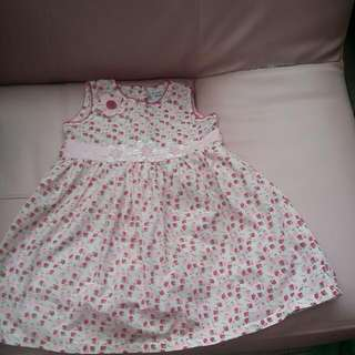 BABY CLOTHES {3 FOR-$15} JUST KID COOLING 3KINDS HELLO KITY,MICJEY MOSE & STRAW DRESSES GIRL 3-5YEARS