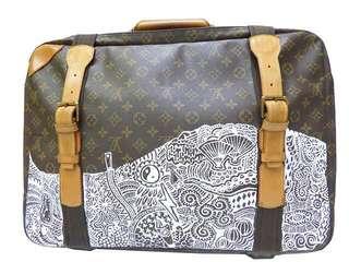 LV Satellite Suitcase 53 喼 lv Gucci balenciaga jimmy choo offwhite chanel bag