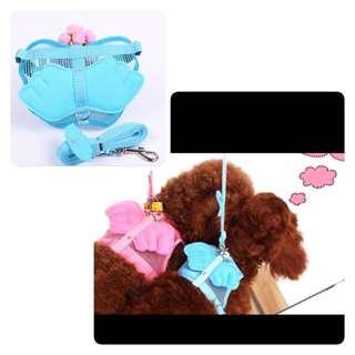 Blue colour -Adjustable Dog Harness