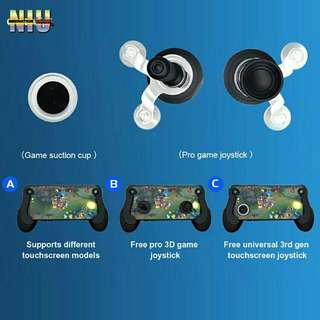 RK Game 5th Edition Touch Screen Mobile Gamepad