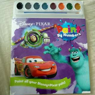Paint by numbers disney pixar