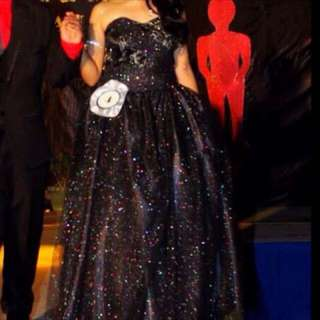 black long gown for rent