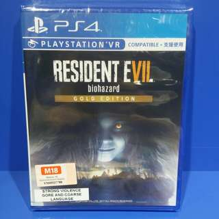 Resident evil 7 Biohazard (gold edition)