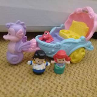 Little mermaid toy