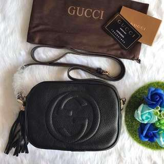 Gucci Sling Bag back colours ready stock