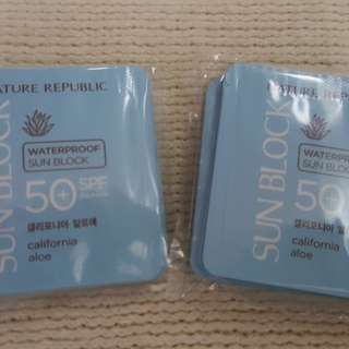 NATURE REPUBLIC Waterproof Sunblock Sachet