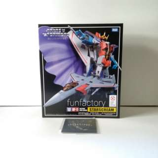 MISB Transformers Masterpiece Starscream MP-11 *with COIN*