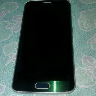 Samsung s6edge 32gb green