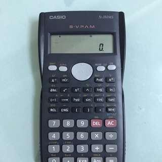 工程計算機 casio fx350ms