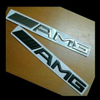 Mercedes Benz AMG Emblem
