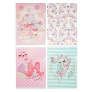 JAPAN DISNEYSTORE, JAPAN IMPORTED: File Set Series: 4 PC CAT DAY 2018 Marie Cat File set