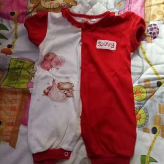 Baju kodok/ terusan baby girl