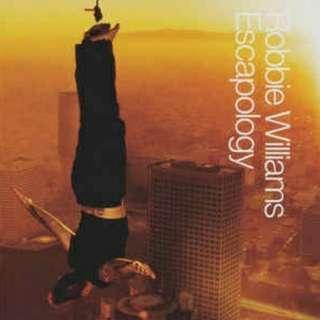 arthcd ROBBIE WILLIAMS Escapology CD (Sexed Up etc)