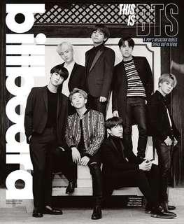 BTS Billboard issue (團單本,不連poster)
