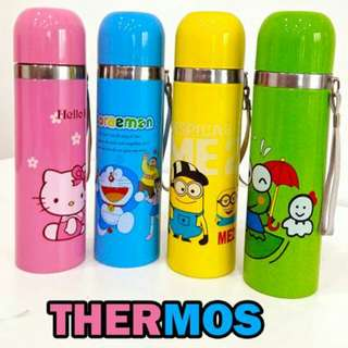 Thermos Flask Cartoon