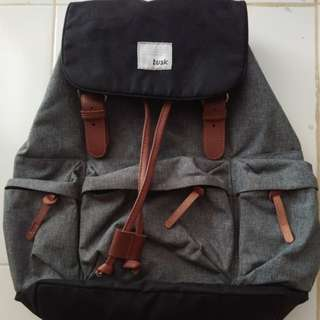 Tas Ransel Tusk Backpack Mulus Seperti Baru