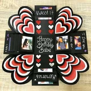 Customized Valentines Day Card / Happy Birthday Card (14pics inside)