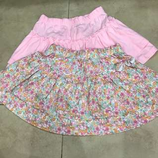 Mothercare skirt set of 2 size 12-18M