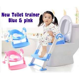 Potty Stepped-up Toilet Seat Toilet Training Seat