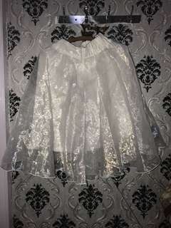 White Tutu Skirt / Rok Tutu