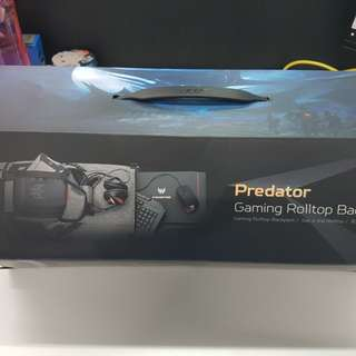Acer Predator Gaming Rolltop Backpack