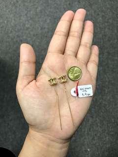Onhand!! Genuine 18K Gold Earrings