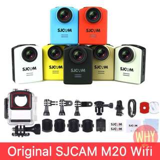Original SJCAM M20 2160P 16MP 166 Adjustable Degree Wifi