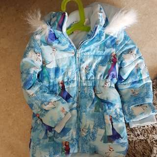 Frozen winter jacket
