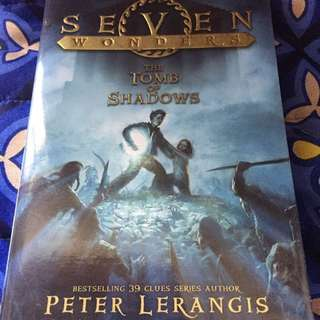 Seven Wonders Series Book 3 The Tomb of Shadows