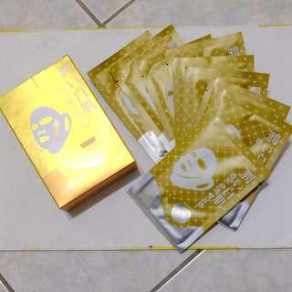 面膜19片 黃金煥顏+玻尿酸保濕