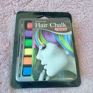 Hair Chalk from Watsons - opened but unused
