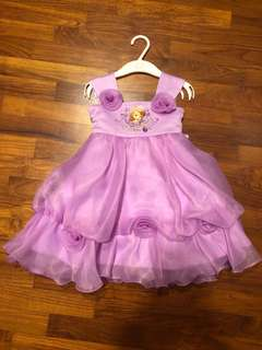 Purple Sofia Princess Dress for Girl