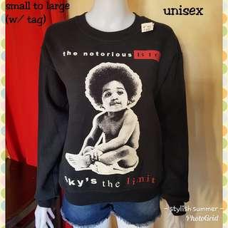 Sweatshirt fits small to large (UNISEX)