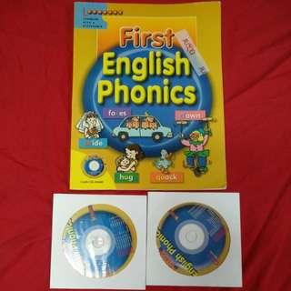 First English Phonics +2CDs