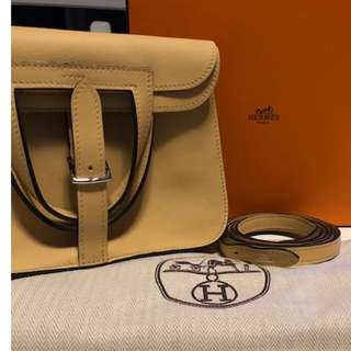 Authentic Used Hermes Mini Halzan
