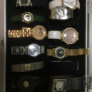 Various brand of watches