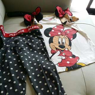 5T MARKS SPENCER MINNIE PJ