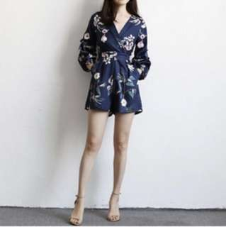 Brand new in pack floral romper
