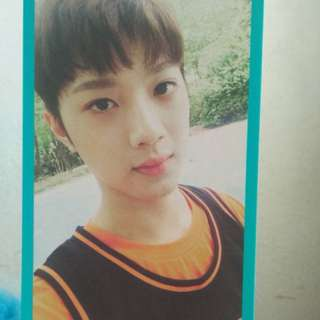Photocard Wannaone Guanlin (Official Fanclub Kit)