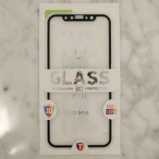 iPhone X Front & Back 3D Tempered Glass