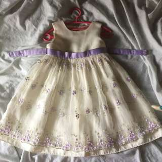 Lace Lavender dress for Todlers