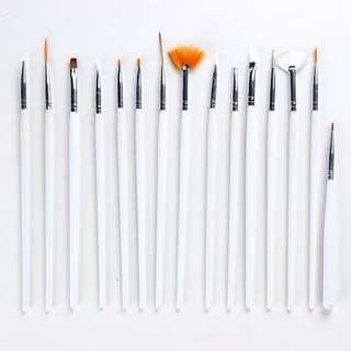 15pcs nail brush (NO NEGO!)