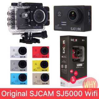Original SJCAM SJ5000 WiFi Action Camera 14MP Waterpoof Sport Camera
