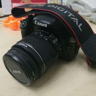 DSLR Canon EOS 1100D