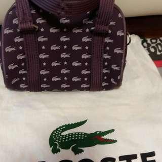 Graduation sale!!! Lacoste small bag