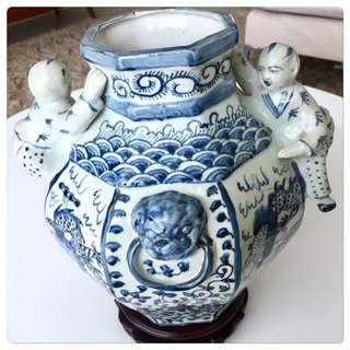 Large Ming Inspired Vase